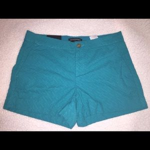 Turquoise Banana Republic Shorts